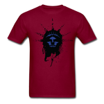 Liberty Of Kaos (Blue) T-Shirt - burgundy