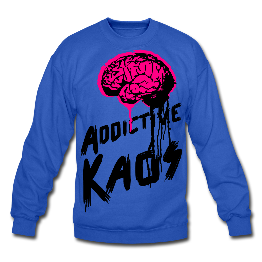 Brain of Operations Crewneck Sweatshirt - royal blue