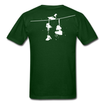 Old New York AKT-Shirt - forest green