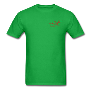 AK Signature Men's T-Shirt - bright green