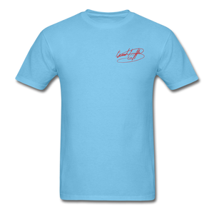 AK Signature Men's T-Shirt - aquatic blue