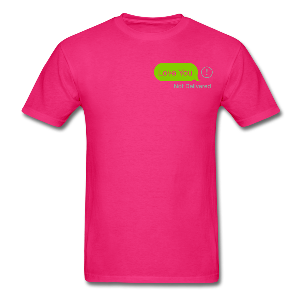 Love You T-Shirt - fuchsia