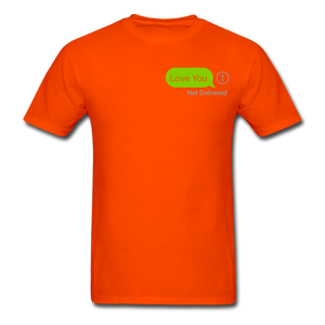 Love You T-Shirt - orange