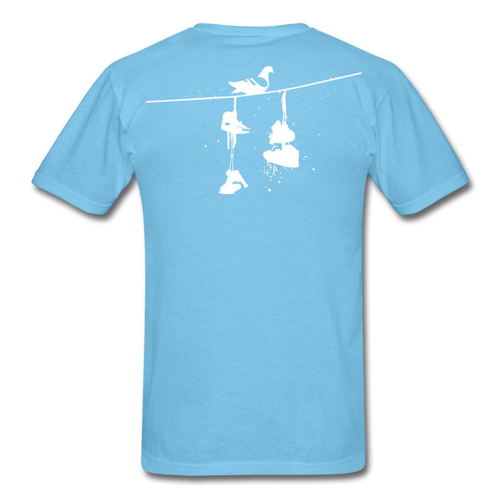 Old New York AKT-Shirt - aquatic blue