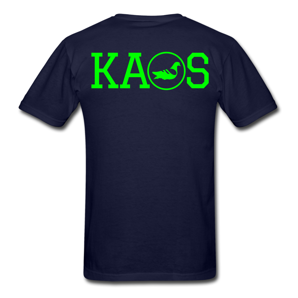 Addictive Neon T-Shirt - navy