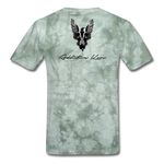 Order Of Owls Men's T-Shirt - military green tie dye