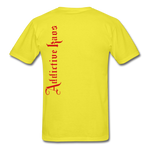 AK Signature Men's T-Shirt - yellow