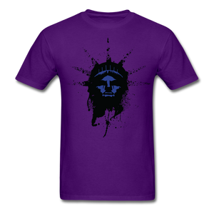 Liberty Of Kaos (Blue) T-Shirt - purple