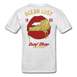 Ocean Lust Men's T-Shirt(GLD) - light heather grey