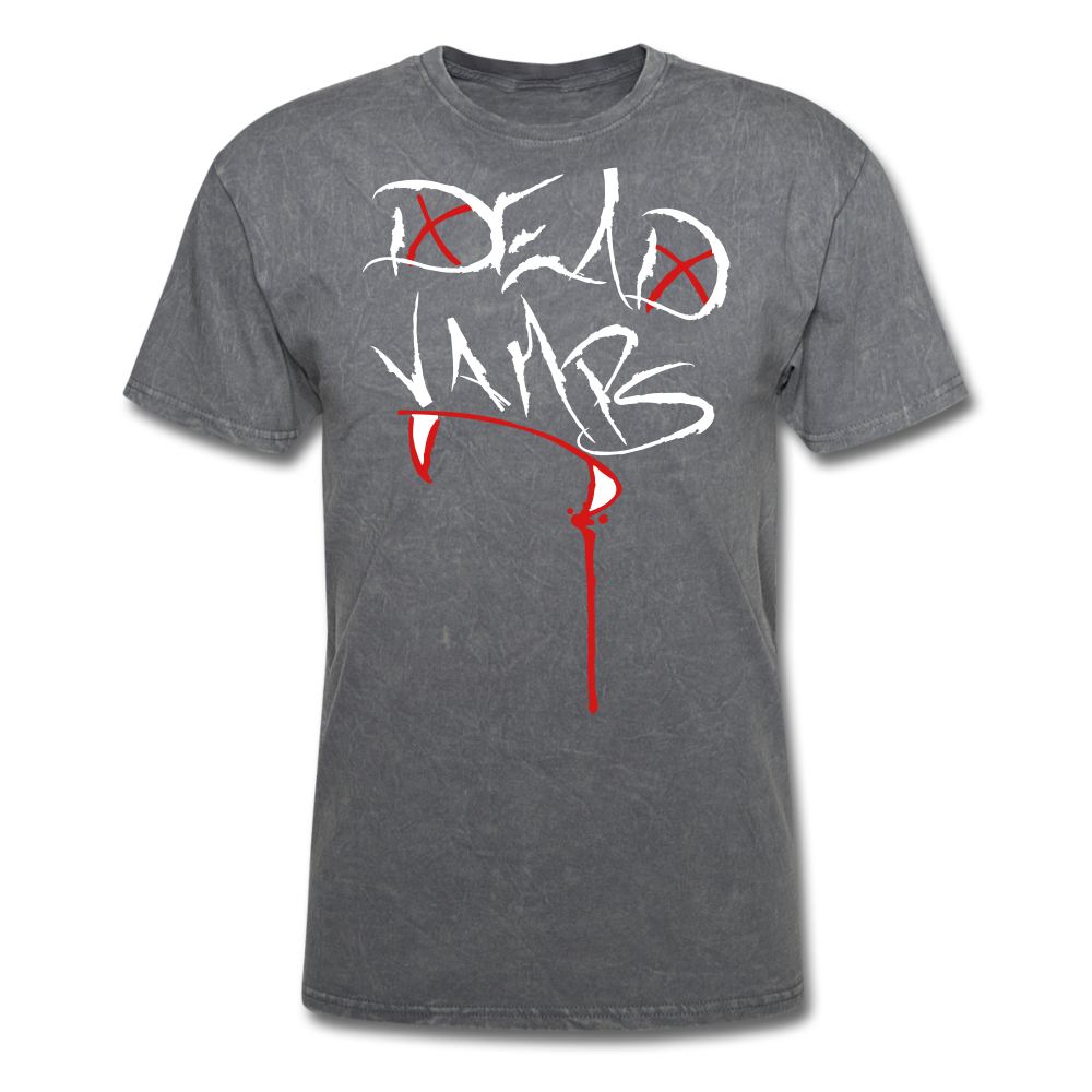 Dead Vamps' Classic Tee - mineral charcoal gray