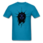 Liberty Of Kaos (Blue) T-Shirt - turquoise