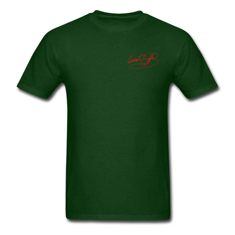 AK Signature Men's T-Shirt - forest green
