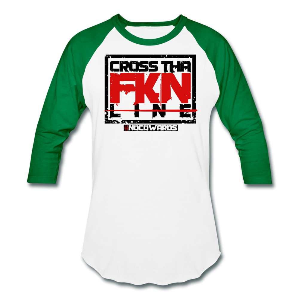 CTL baseball tee - white/kelly green