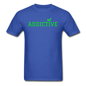 Addictive Neon T-Shirt - royal blue