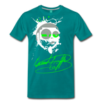 Toon Head Premium T-Shirt - teal