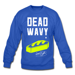 Dead Wavy Crewneck Sweatshirt - royal blue