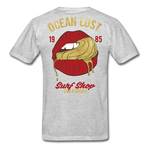 Ocean Lust Men's T-Shirt(GLD) - heather gray