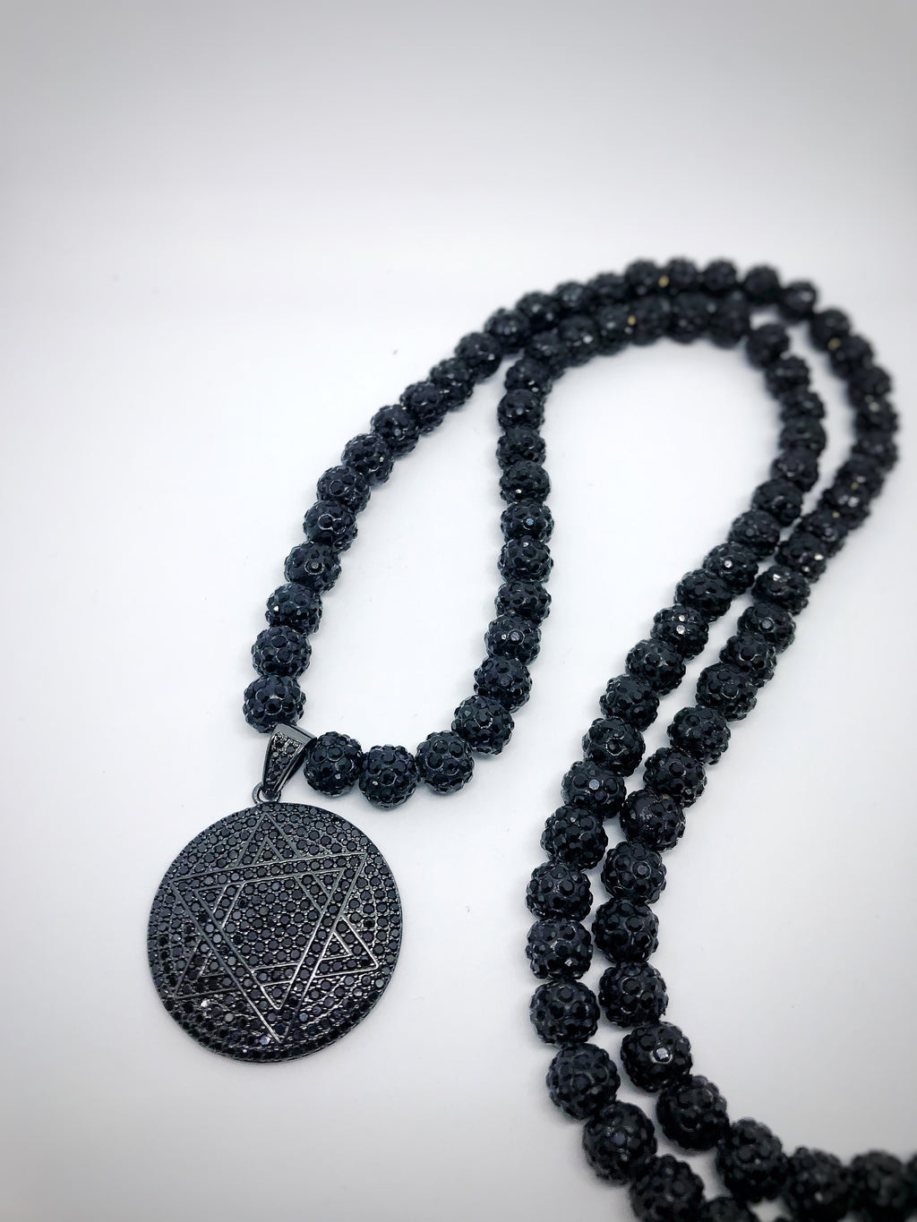 Jeremiah 14:2 Pavé necklace