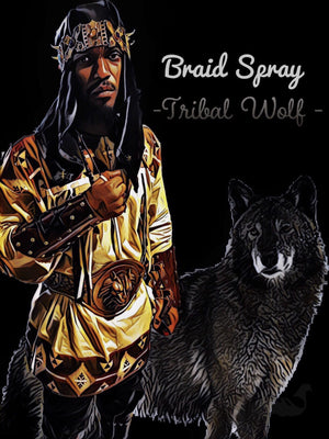 Tribal Wolf Braid Spray