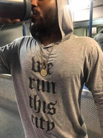 We Run This City Tri-Blend Hoodie Shirt