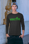 Addictive Neon Long Sleeve T-Shirt