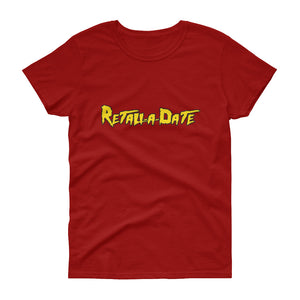 Retaliadate red short sleeve t-shirt
