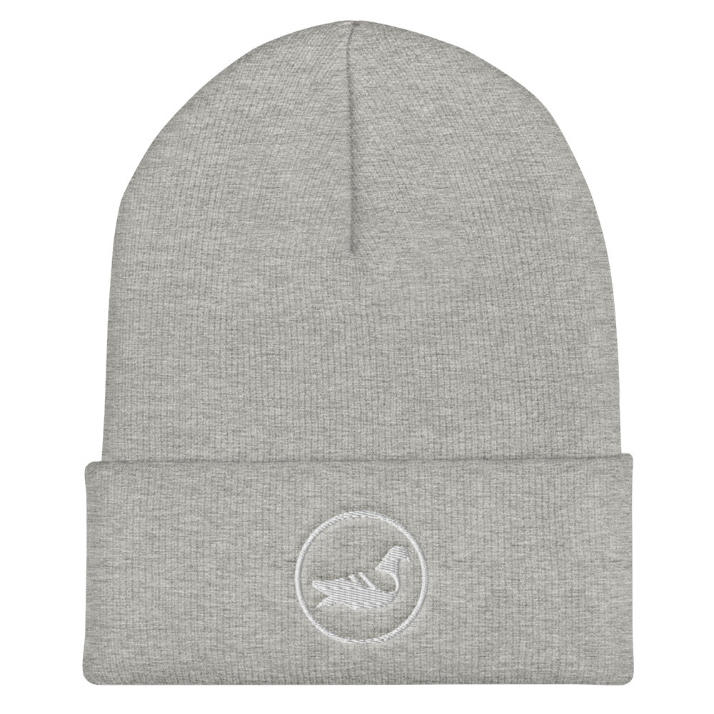 City Bird Cuffed Beanie