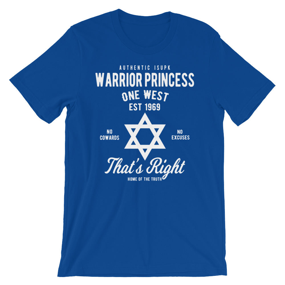 Warrior Princess Short-Sleeve Unisex T-Shirt