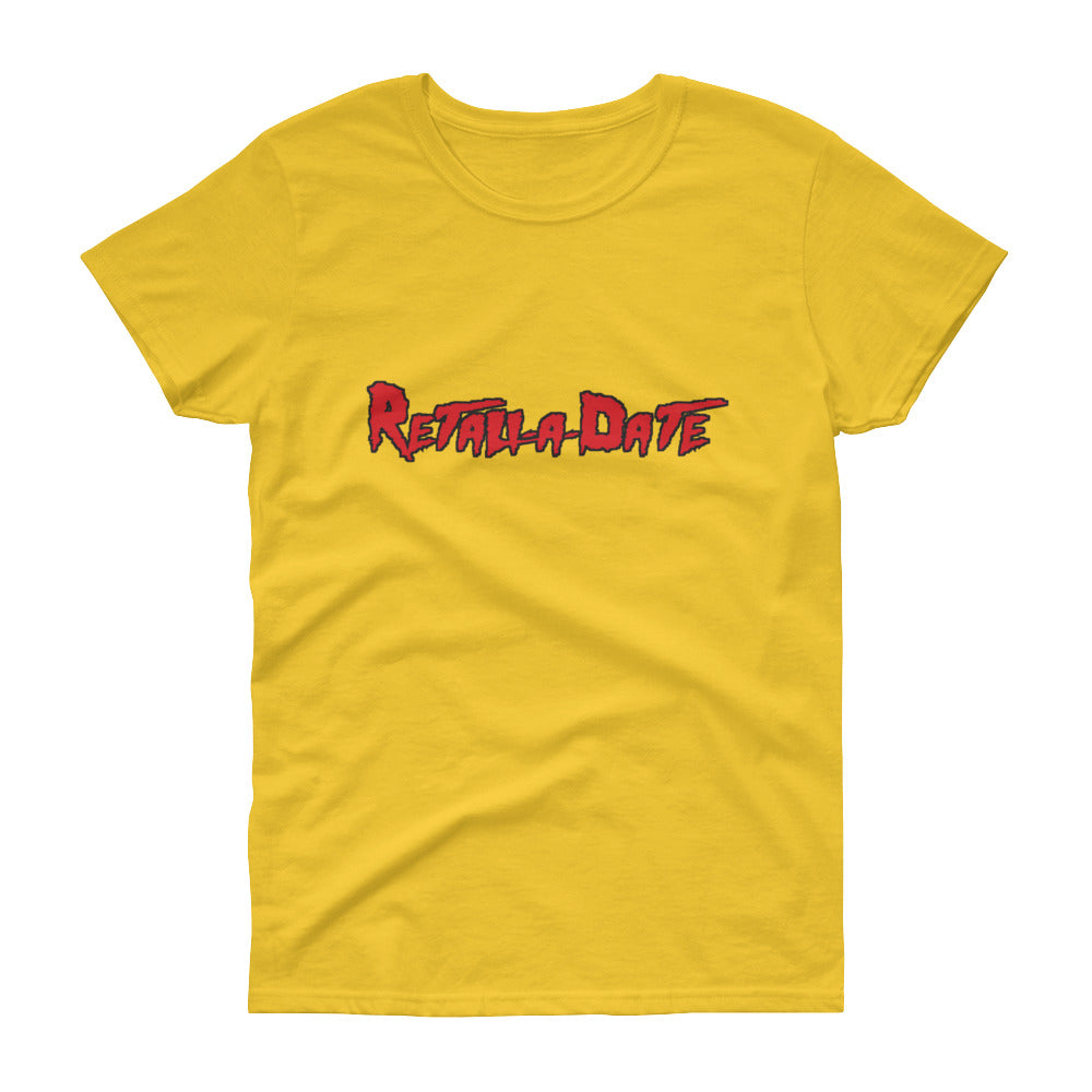 Retaliadate yellow Women's short sleeve t-shirt