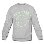 Dead Vamp Glow Crewneck Sweatshirt - heather gray