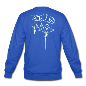 Dead Vamp Glow Crewneck Sweatshirt - royal blue