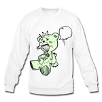 Tuff Teddy Rancon Crewneck Sweatshirt - white