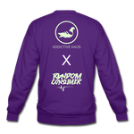 Tuff Teddy Rancon Crewneck Sweatshirt - purple