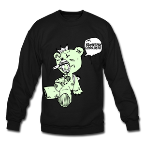 Tuff Teddy Rancon Crewneck Sweatshirt - black