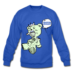 Tuff Teddy Rancon Crewneck Sweatshirt - royal blue