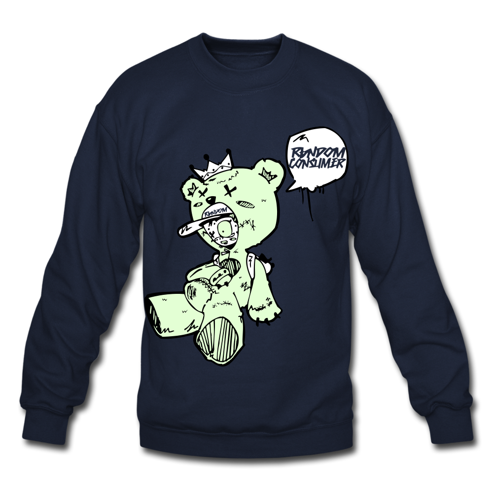 Tuff Teddy Rancon Crewneck Sweatshirt - navy