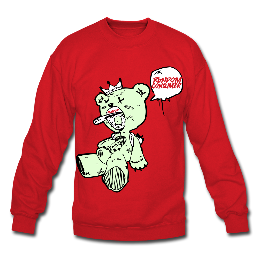 Tuff Teddy Rancon Crewneck Sweatshirt - red