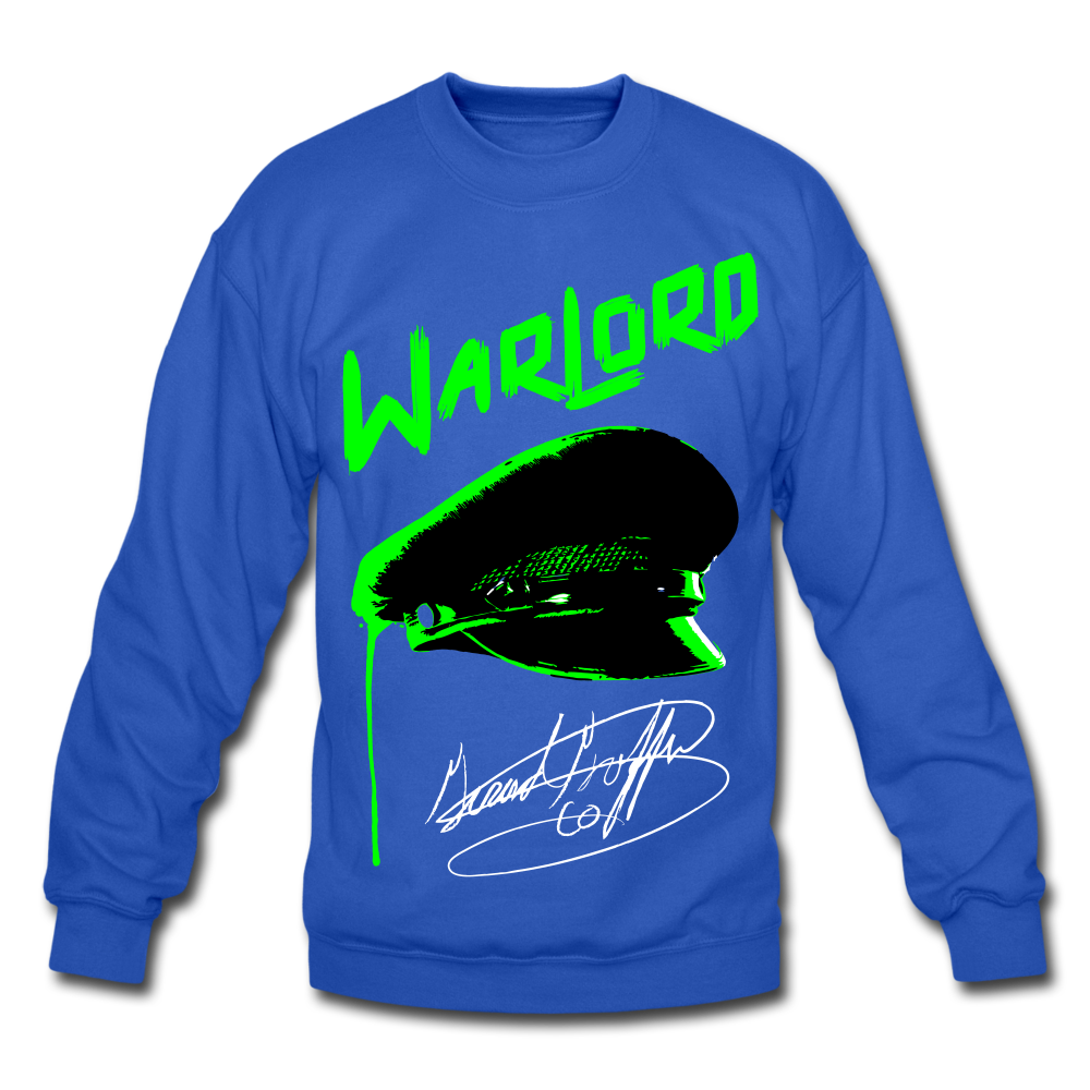 WarLord Crewneck Sweatshirt - royal blue