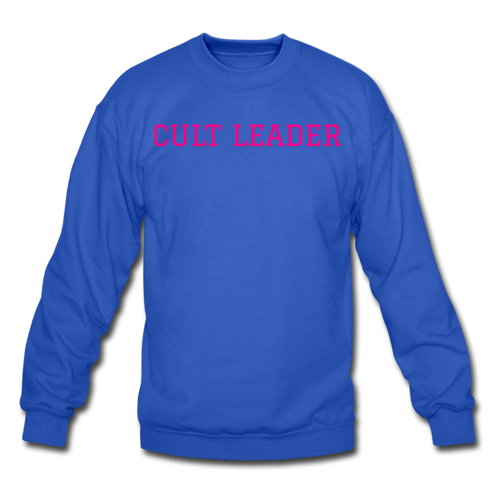 Cult Leader AK Crewneck Sweatshirt - royal blue