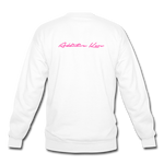 False Saviors (Signature) Crewneck Sweatshirt - white