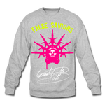 False Saviors (Signature) Crewneck Sweatshirt - heather gray