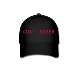 Cult Leader Baseball Cap - black
