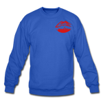 City Kiss Crewneck Sweatshirt - royal blue
