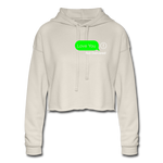 Not Delivered Women's Cropped Hoodie - dust