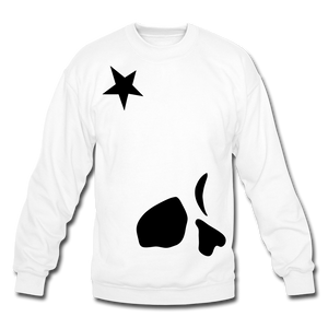 Big General Crewneck Sweatshirt - white