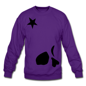 Big General Crewneck Sweatshirt - purple