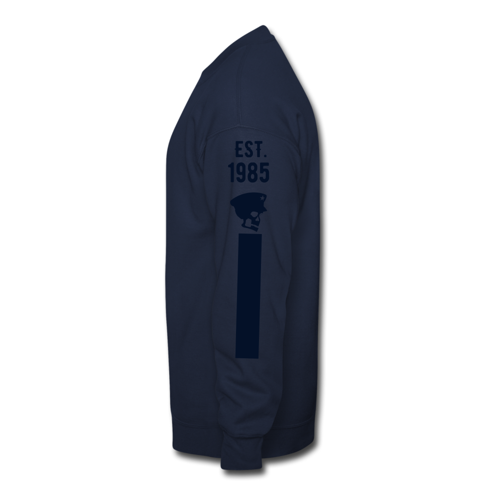 Big General Crewneck Sweatshirt - navy