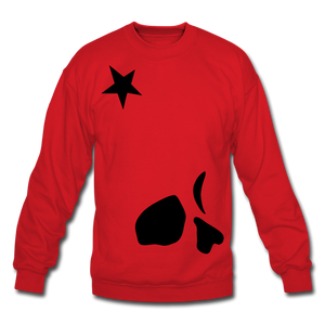 Big General Crewneck Sweatshirt - red