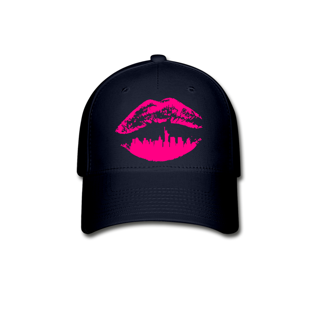 City Kiss Baseball Cap - navy