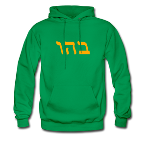 Genesis 1:2 Men's Hoodie - kelly green